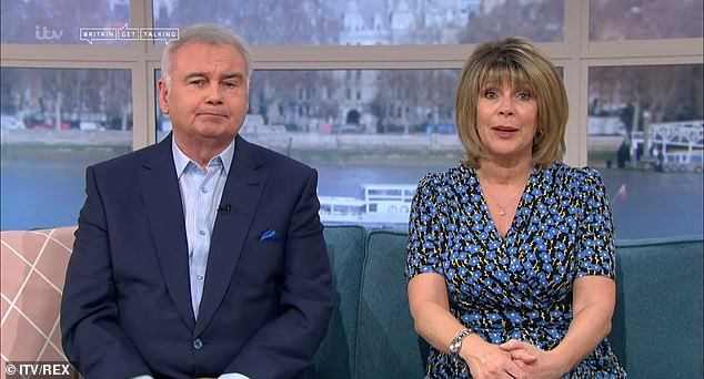 'It's getting me out there': Eamonn Holmes revealed in an interview on Saturday that using a circulation booster every day has helped him walk amid his chronic pain battle