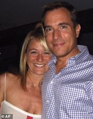 Stephanie and Mark Madoff. He killed himself in 2010 on the second anniversary of his father's arrest