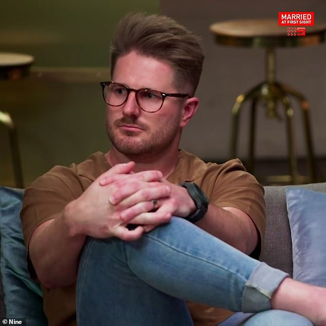 Backlash:Bryce (pictured) has turned out to be one of the most controversial grooms on this season of Married At First Sight and has copped endless backlash from fans