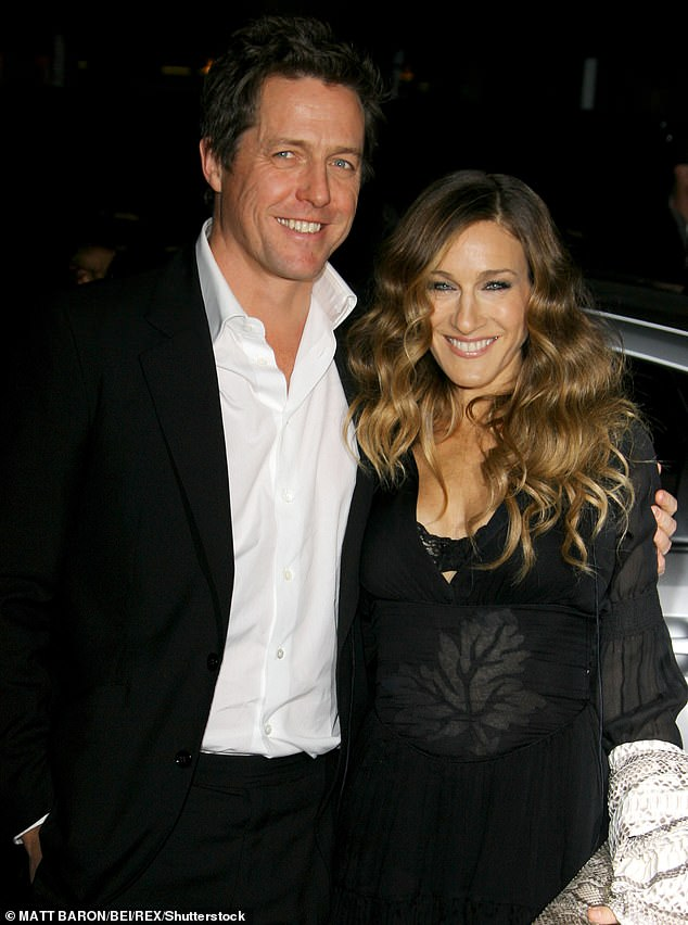 'Top of the list': Hugh is 'courted' by his friend and former co-star Sarah Jessica, 56, as she tries to convince him to join the relaunched series as the couple have done well worked together in the past