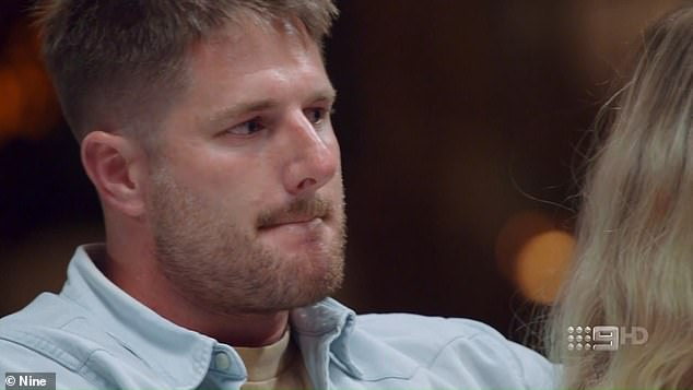 Bad boy Bryce: When Melissa and Bryce took to the couch to speak to the experts on Sunday night's finale, Melissa asked for people to stop coming to her with 'information' about her beau