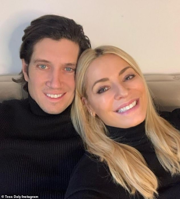 Natural beauty: The presenter opened up about his and Tess' relationship in a new interview, saying: 'I'm always telling her not to put makeup on'