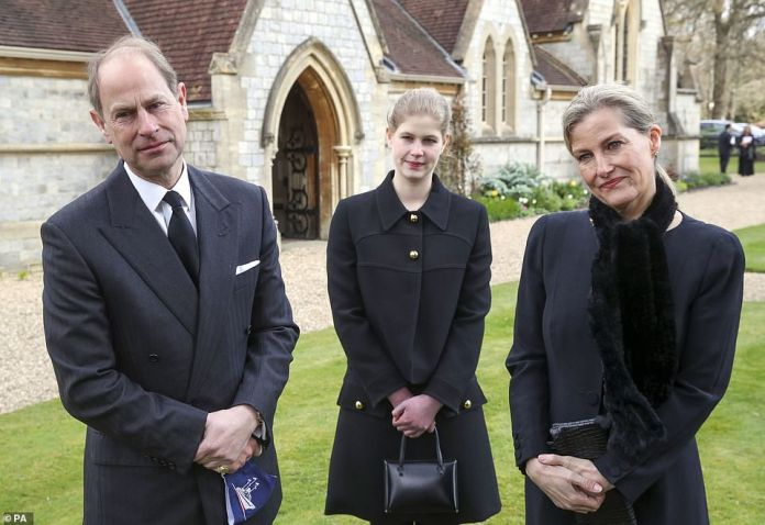 Prince Edward and Sophie Wessex have also visited the Queen and have spent a lot of time with her since Philip died at 99.
