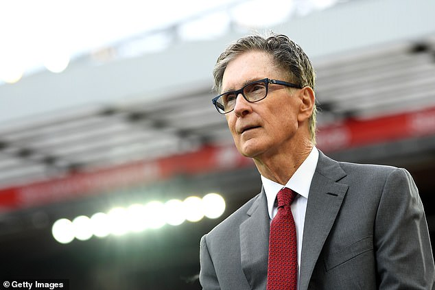 Liverpool owner John W Henry will act as one of the European Super League's vice-chairman
