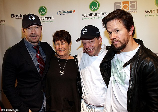 'Rest in peace': Mark and Donnie Wahlberg have announced the passing of their mother Alma