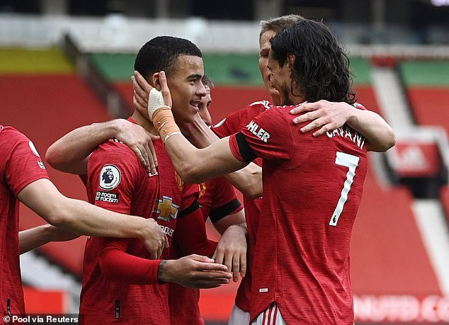 Mason Greenwood and Edinson Cavani both got onto the scoresheet to earn the hosts a win