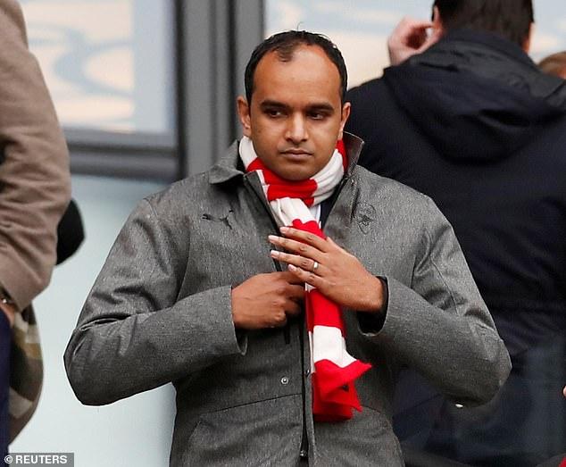 Arsenal chiefVinai Venkatesham has also quit his position on the ECA board of directors