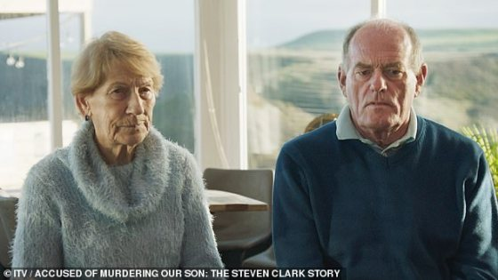 Doris and Charles, shown in the documentary, said the arrest on suspicion of killing their own son was
