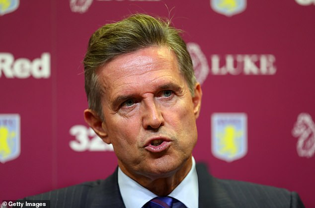 Aston Villa (pic, chief executive Christian Purslow) are said to be fuming at the developments