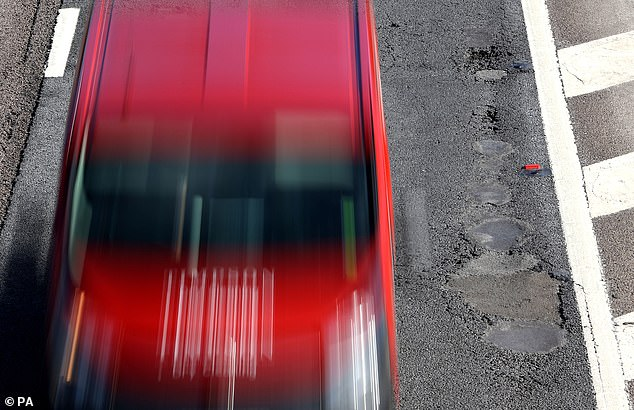 RAC says its own data suggests road quality is now in a declining state and means drivers are nearly one-and-a-half times more likely to breakdown as a result of hitting potholes today than they were in 2006