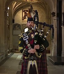 Pictured: Colour Sergeant Peter Grant