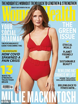 Read the full Millie Mackintosh interview in the May issue of Women's Health UK,