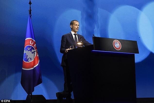 Aleksander Ceferin continued his war path against the European Super League on Tuesday