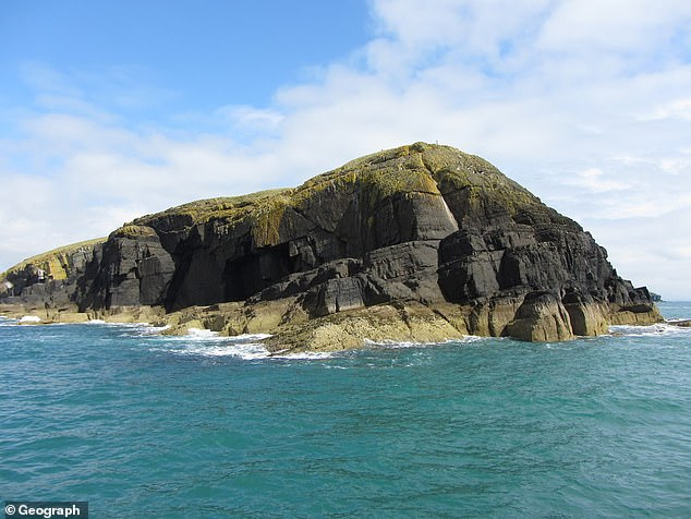 The 46-year-old presenter, whose real name is Edward, purchased the island of Saint Tudwal's West (picture) in 2001 for £95,000