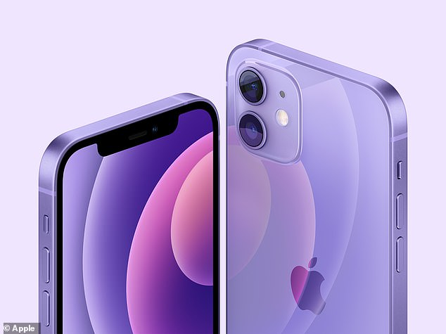 The fetching new shade of purple will be available for both the iPhone 12 and iPhone 12 mini