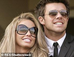 5. Katie met model Leandro, 35, in 2012 at Elton John's Oscar party in Los Angeles.