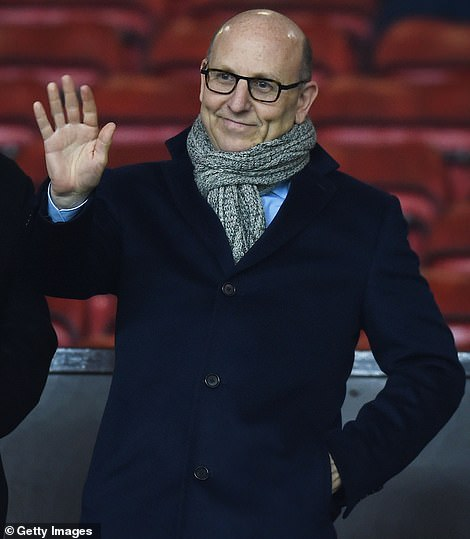Manchester United director Joel Glazer - from the controlling Glazer family