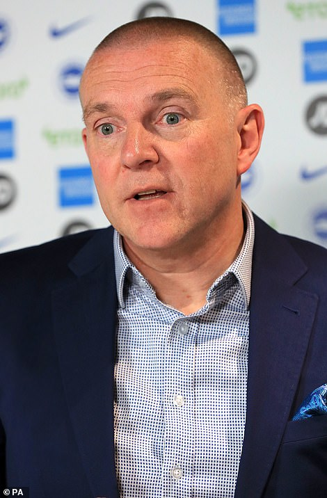 Brighton chief Paul Barber explained that he spoke with Levy on the phone on Tuesday morning