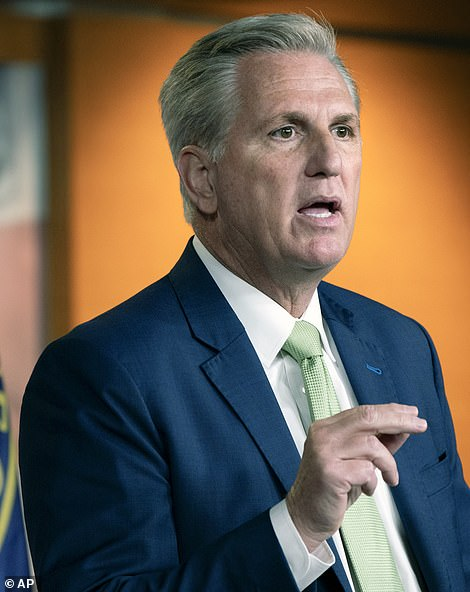 House Minority Leader Kevin McCarthy of Calif. moved Tuesday to censure Waters – which drew an immediate tabling motion on the House floor