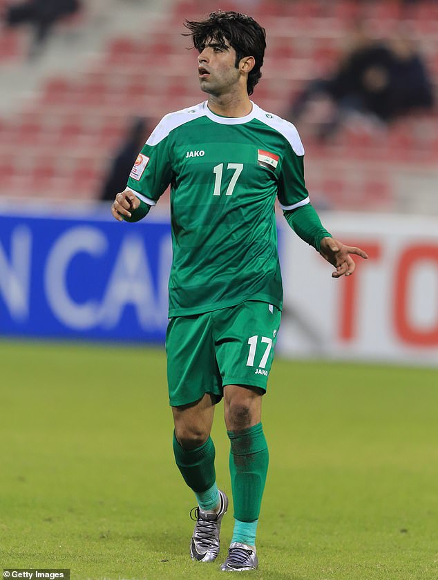 Mhawi, a professional footballer and father-of-one, has been capped 44 times by Iraq and plays in the Iraqi Super League and believed he had signed up for a charity show