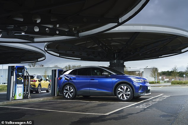 The ID.4 is capable of 125kW DC rapid charging, meaning the battery can recover almost 200 miles of range in just 30 minutes