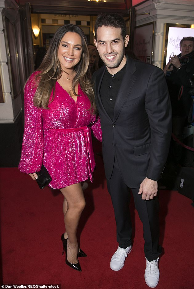 Happy couple: Kelly recently revealed that she plans to propose to six-year-old boyfriend Jeremy Parisi in the upcoming leap year (pictured together in 2020)