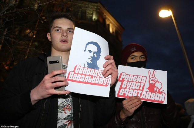 Navalny's activist network faces mounting pressure. State prosecutors in Moscow began legal moves last week to ban his groups as extremist organisations, even as tens of thousands of Russians took to the streets in a show of support