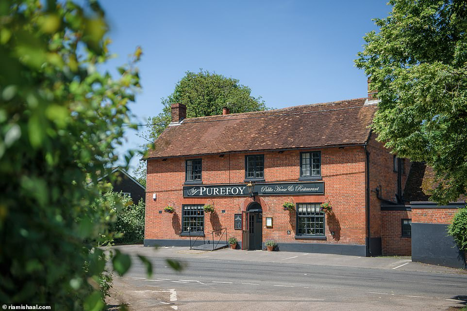 The Purefoy Arms serves food by chef Gordon Stott, who was named 'Pub Chef of the Year' at the Craft Guild of Chefs Awards in 2017