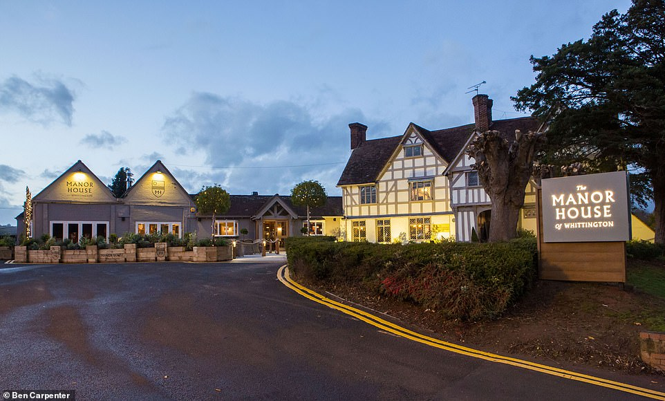 The pub building dates back to 1310 and is a Grade I-listed property.It offers a menu of seasonal dishes
