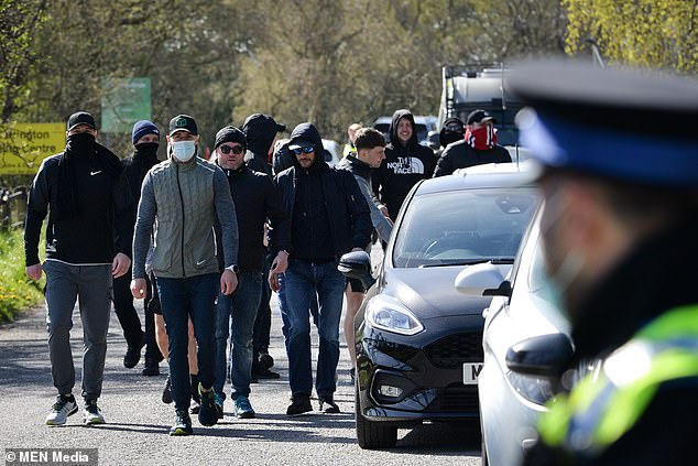 Manchester United stars were shocked at the ease at which a mob entered their training base