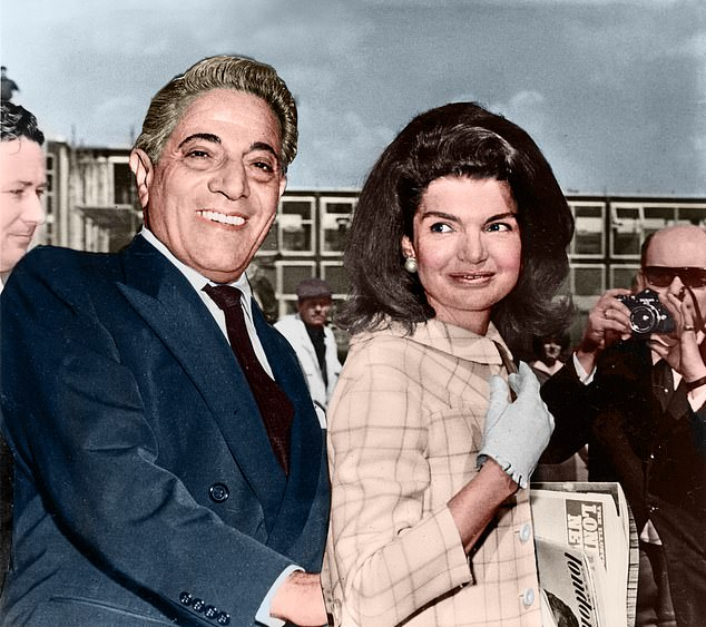By the time Aristotle Onassis left Callas for JFK¿s widow Jackie Kennedy in 1968, above, his relationship with Callas was so toxic that he once hit her in the face in front of horrified guests, shouting: ¿¿You¿re only good for f***ing. And you¿re not even good for that any more.¿