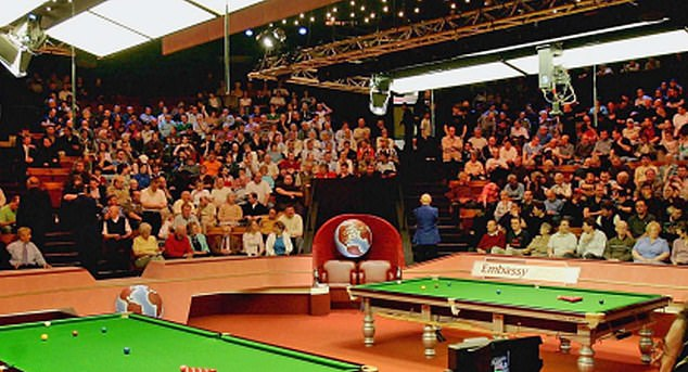 Mr Dowden said he hoped a full crowd will watch the Crucible final beginning on May 2. The move follows a 'successful' pilot scheme which has seen the venue operate at one-third capacity this week, with fans tested on entry