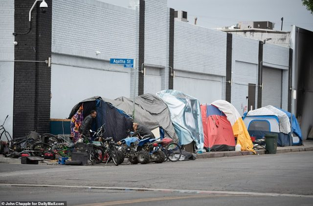 The city of Los Angeles wants to begin enforcing the clearing of tents along Skid Row to comply with a judge's order
