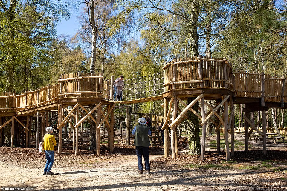 Thehuge adventure playground inspired by Kate Middleton and built on the Queen's Royal Sandringham Estate in Norfolk is finally opening on Friday