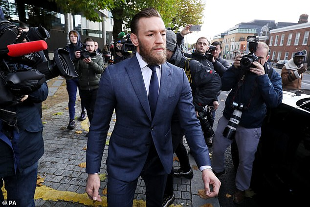McGregor was fined £860 after admitting to the punch and says he has barred Keogh