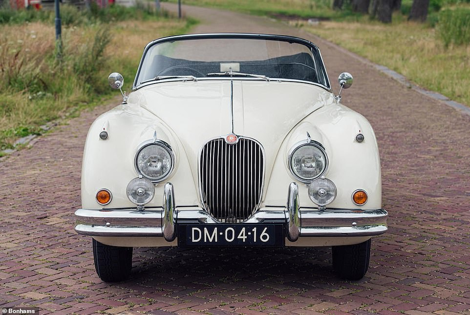 Once fully restored, this is how a sublime example of a Jaguar XK150 S 3.8 Drophead Coupe should look