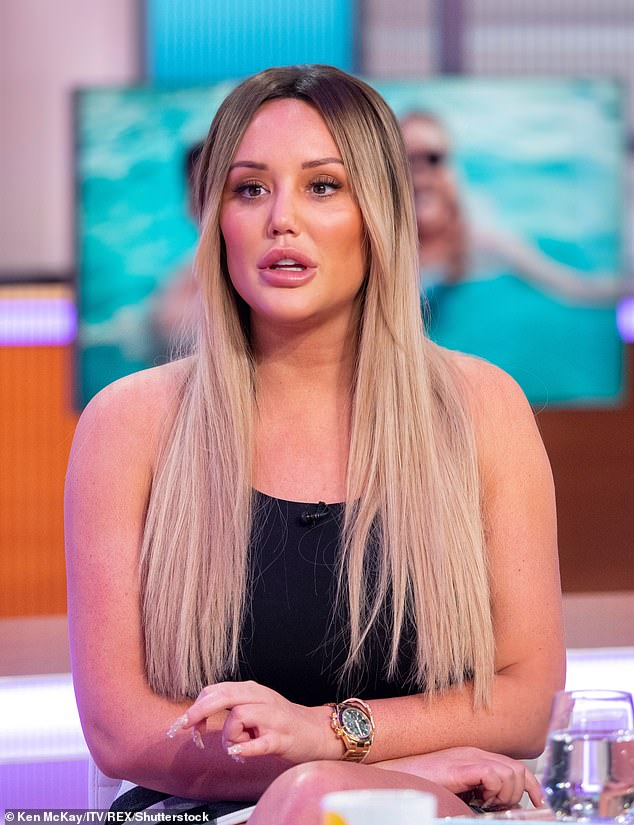 Candid: In recent years Charlotte has been incredible open about her history of surgical procedures, including a nose job, lip fillers and a breast correction