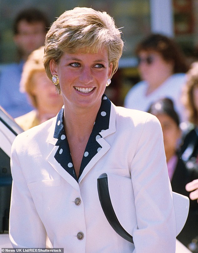 'Kate has that poise of the public servant, yet she also has the common touch ¿ or the Diana touch, as I think of it. It's a difficult balance, being someone people can identify with but also look up to, but she's got it. I think she's the Queen's protégée,' says Gary. (Above, Princess Diana in 1990)