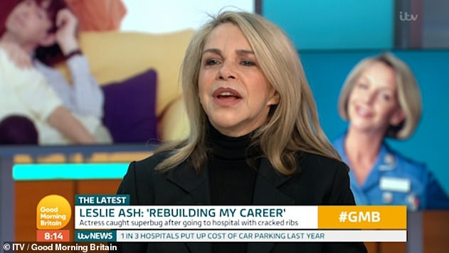 'Rebuilding her career':It will mark the actress' first major acting role since 2010 as she claimed in a 2019 interview that the entertainment industry is 'finished' with her