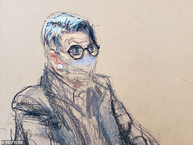 Attorney Bobbi Sternheim appears in court during the arraignment hearing in a court sketch