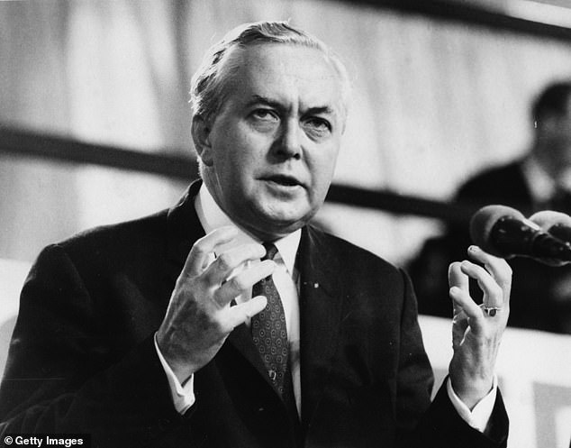 Labour governed for two stretches under Harold Wilson (pictured) in the 1960s and 1970s, and enjoyed another halcyon period under Tony Blair in the 1990s and 2000s