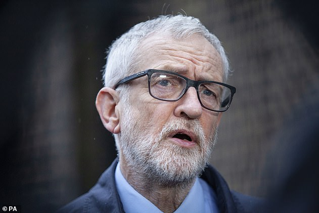 Ever since the 1960s, Labour has been increasingly dominated by a high-minded, well-heeled Left-wing elite, from Michael Foot and Tony Benn to Ed Miliband and Jeremy Corbyn (above, in 2020)