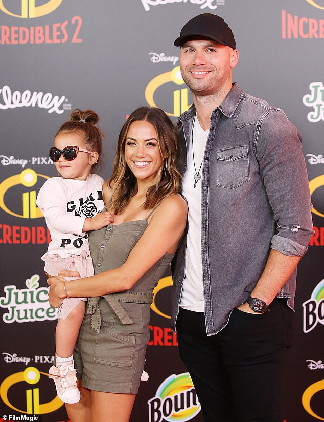 Family: Jana broke the news on Instagram Wednesday with an emotional post amid more infidelity accusations against the former professional football player, with whom she shares two children