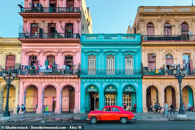 Another reader asks for help for claiming money back on two cancelled Air Europa flights to Cuba. Pictured is the country's capital, Havana