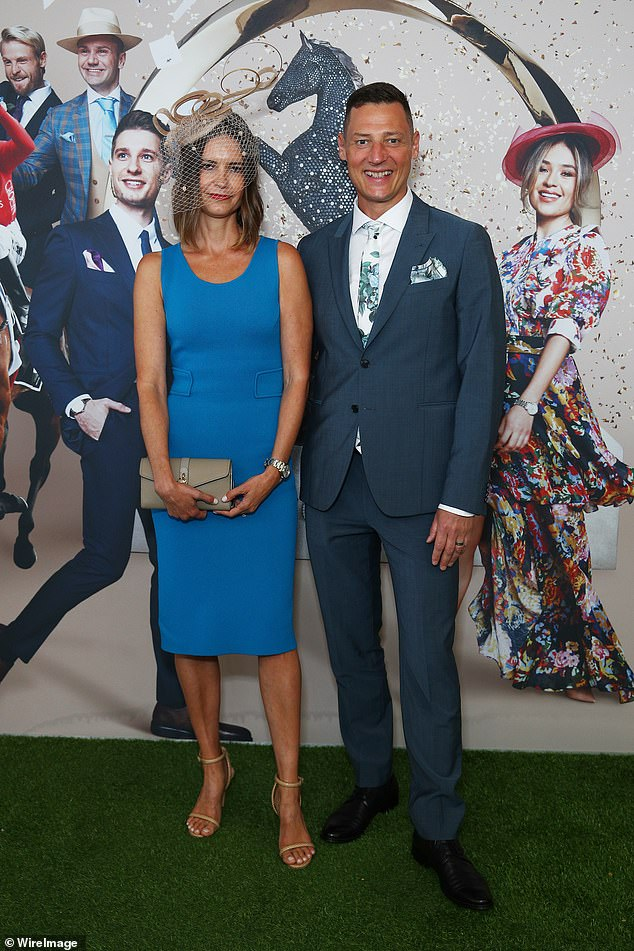 Moves:Merrick Watts and his wife Georgina are moving to a fascinating new home. Both pictured