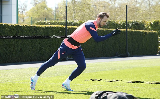 Tottenham are sweating on Harry Kane's fitness ahead of Sunday's Carabao Cup final