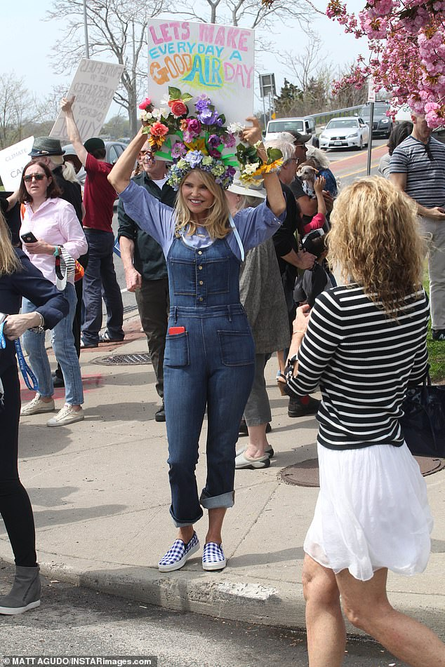 LOG on to the National Theatre website and you'll find what looks like a woke news channel (Model Christie Brinkley at the Peoples Climate Change March in Sag Harbor)