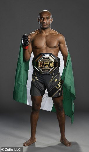 Kamaru Usman, known as the 'Nigerian Nightmare', defended his welterweight title at UFC 261