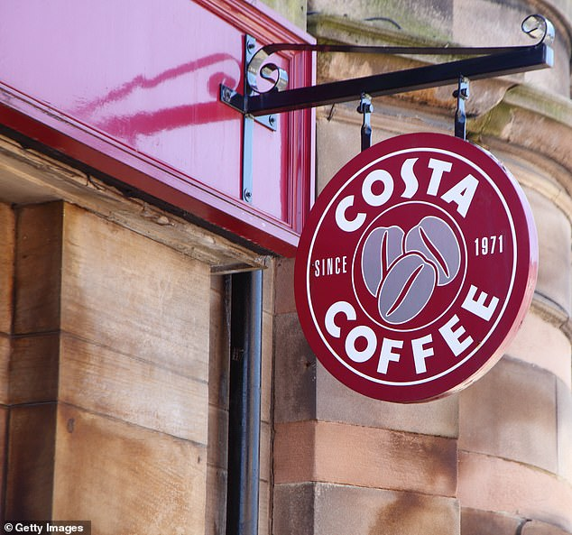 A report by Costa compiled after Ms Dudenko was dismissed said she failed to take charge and was unable to control the situation during fire evacuation at the store in Edinburgh (file photo)