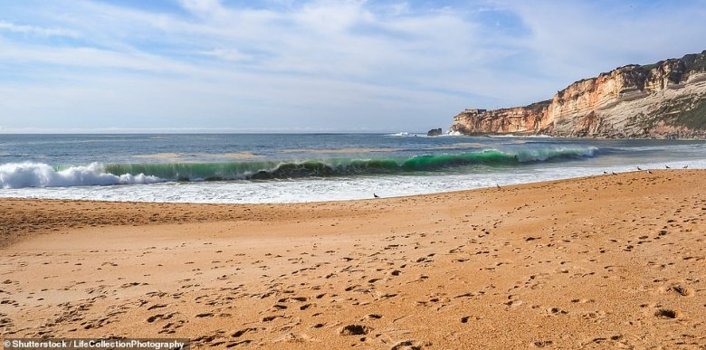 Escape to Portugal's less-visited Costa de Prata (Silver Coast), pictured, to mark 25 years of marriage - a silver anniversary
